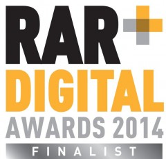 RAR Awards Finalist 2013