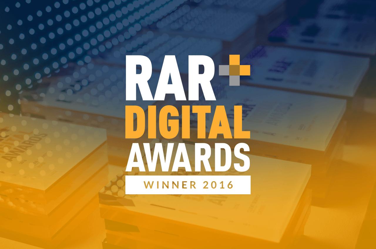 RAR Award Winner
