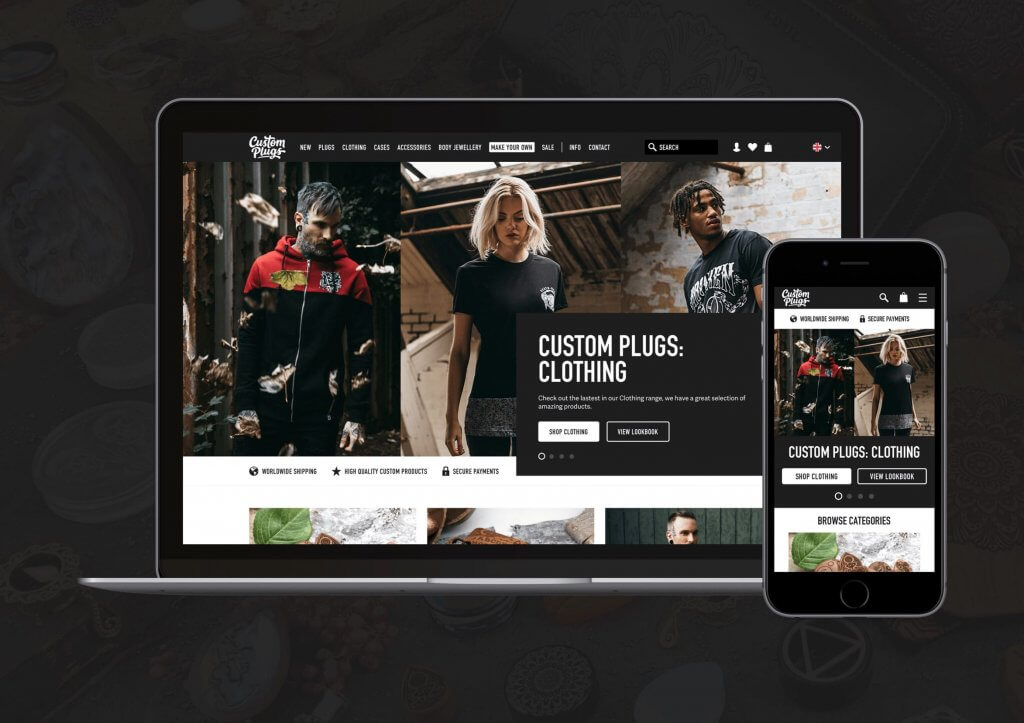 Custom Plugs - Shopify Plus to Magento 2 Commerce Migration